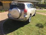 2007 TOYOTA RAV4 CV (4x4) ACA33R 4D WAGON