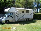 YOU WONT BE DISSAPOINTED IN THIS JAYCO OPTIMUM MOTORHOME
