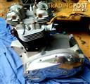 1967 Triumph Bonneville engine, carbs and electronics