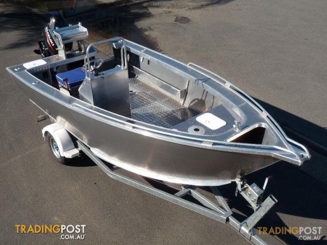 New Heavy Duty Plate Aluminium Boat 5 2 Metre Side Console
