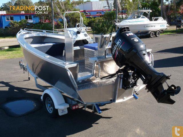New Heavy Duty Plate Aluminium Boat 5 2 Metre Side Console