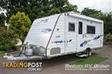 2016 NEW AGE Manta Ray 16 Series with Island Bed New Age  Caravan