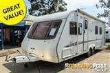 2005 Swift Conqueror   Caravan