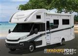 2017 Sunliner Switch S541 Iveco  Motor Home