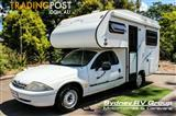 2000 Safari Camper Ford Falcon   Motor Home
