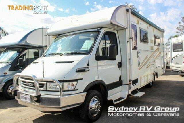 2006 Sunliner Euro Spa Iveco Motor Home