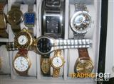 VARIOUS  WATCHES  FOR SALE   SWISS- JAPANESE-  FROM  $10