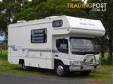 Winnebago Leisure Seeker on Mazda T4600 2000 model with all you could want for your travels