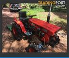 4wd Kubota Tractor and Dapco Slasher