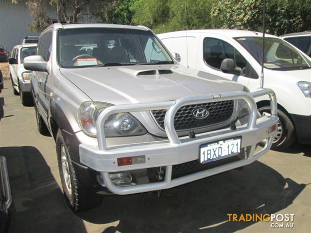 2005 Hyundai Terracan Crdi 4d Wagon For Sale In Mandurah Wa 2005