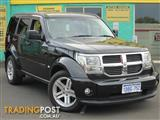 2009 DODGE NITRO SX KA MY08 4D WAGON