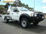 2010  NISSAN NAVARA DX D22 MY2009 CAB CHASSIS