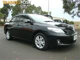 2011  TOYOTA COROLLA ASCENT SPORT ZRE152R MY11 SEDAN