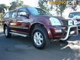 2004  HOLDEN RODEO LT Crew Cab RA UTILITY