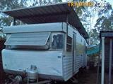 viscount 22' shower & toilet with air roof