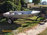 Tinny Runabout Boat