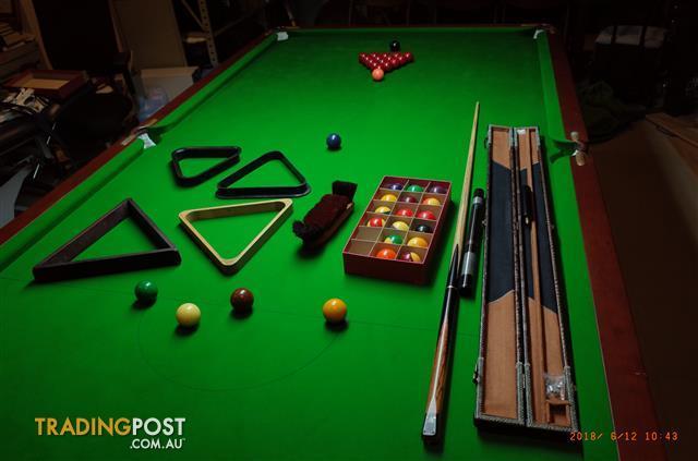 As New X Foot Snooker Table Full Italian Slate Empire - Italian pool table