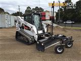 Bobcat T650 skid steer track loader