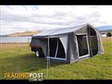 New Heavy Duty cjohn Camper trailer with full annex.
