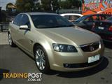 2007 HOLDEN CALAIS V VE 4D SEDAN
