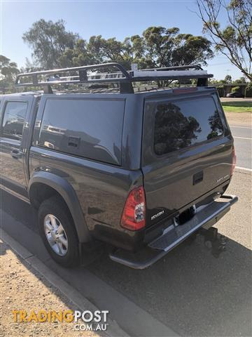 Dmax canopy tub and roof rack & Dmax canopy tub and roof rack for sale in Murray Bridge SA | Dmax ...