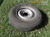 Split rims to suite Hilux 2004 set of 4 good for spare wheel