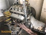 Holden V8 EFI 5.0L + rebuilt shift kitted T700 transmission