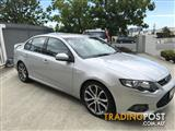 2012 FORD FALCON XR6 LIMITED EDITION FG MK2 4D SEDAN