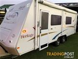 Jayco 21' Heritage Solar, R/out awning & new shade wall