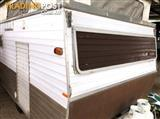 #1938, Millard 11' P/Top, Tare 450, Free delivery, 12 Rego, R/out awning