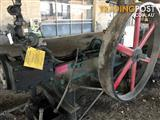 #0003, Working Horizontal  Steam Engine,  MFG   E.S. Hindly & Sons,