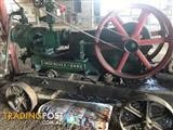 #0002 INGERSOLL-RAND Working Steam driven air compressor,     Offers over $5,000-00