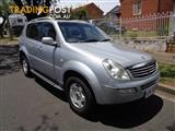 2004 SSANGYONG REXTON RX320 LIMITED Y200 4D WAGON
