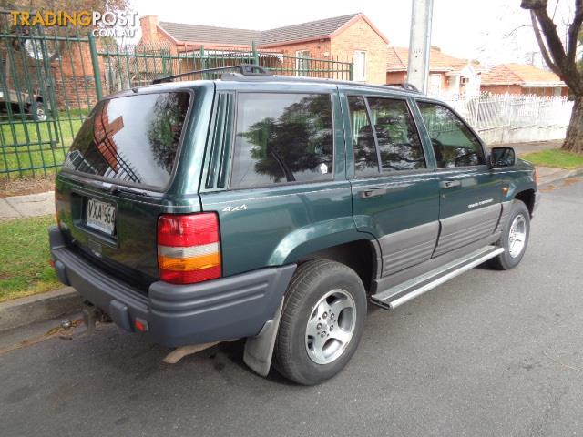 1996 jeep grand cherokee laredo 4x4 zg 4d wagon for sale in blair athol sa 1996 jeep grand. Black Bedroom Furniture Sets. Home Design Ideas