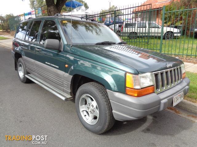1996 jeep grand cherokee laredo 4x4 zg 4d wagon for sale in blair athol sa 1996 jeep grand. Black Bedroom Furniture Sets. Home Design Ideas