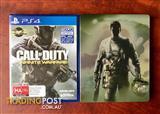Ps4 COD Infinite Warfare + UNUSED DLC. BRAND NEW SEALED +STEELCASE $45