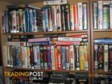 VHS VIDEO TAPES -- VIEW HUGE LIST OF MOVIES FOR SALE