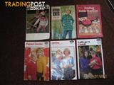 VINTAGE CRAFT & KNITTING PATTERNS -- MAGAZINES