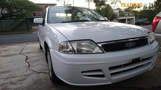 2002 FORD LASER LXi KQ 166000KMS 4D SEDAN 1.6 5SPEED WHITE