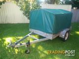 6x4 Covered & Galvanised Trailer