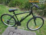 "REPCO 26″ ROUGE MOUNTAIN BICYCLE 18 SPEED BIKE 26"" TYRES FRONT SHOX"