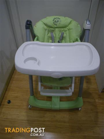 Peg Perego Prima Pappa Diner High Chair Made Italy 2006