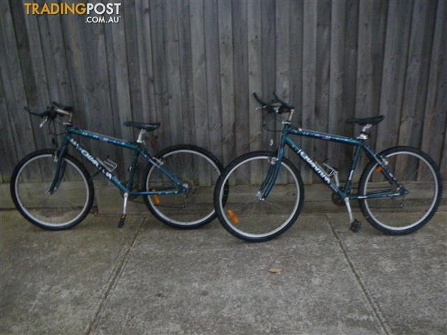 "TWO ORBIT QUANTUM MOUNTAIN BIKE 21 SPEED BICYCLE ALUMINIUM FRAME 24"" TYRES"