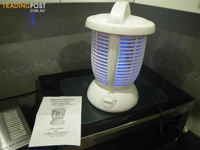 BUG SENTINEL BUG ZAPPER CMZ985 CORDLESS PORTABLE RECHARGEABLE INSECT KILLER