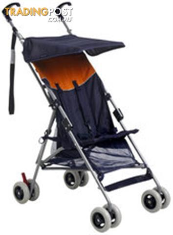 BABY CLUB STROLLER 4 WHEEL PRAM COLAPSABLE SINGLE INFANT TO TODDLER PUSHER