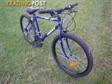 "HUFFY BACKWATER MOUNTAIN BICYCLE 18 SPEED BIKE 26"" TYRES"