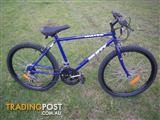 """HUFFY BACKWATER MOUNTAIN BICYCLE 18 SPEED BIKE 26"""" TYRES"""