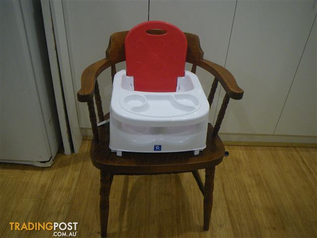 CHILDCARE BOOSTER FEEDING CHAIR BABY BOOSTER SEAT HIGH CHAIR