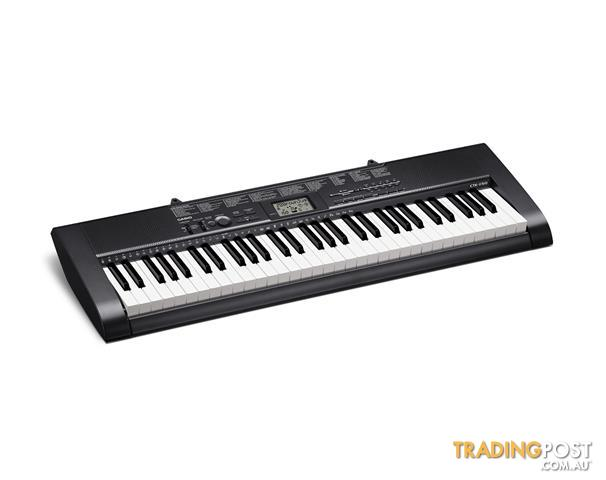 CASIO KEYBOARD CTK1150 ELECTRONIC MUSIC 61 FULL SIZED KEY PIANO KEYBOARD