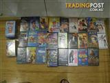 BULK LOT 45+ VHS MOVIES VIDEO TAPES FILMS TV SHOWS SOMETHING FOR EVERYONE